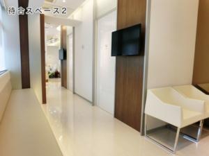 江北ファミリークリニック待合室2