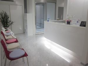 あらき歯科 受付・待合室