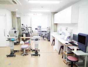 西川口駅前眼科 検査室
